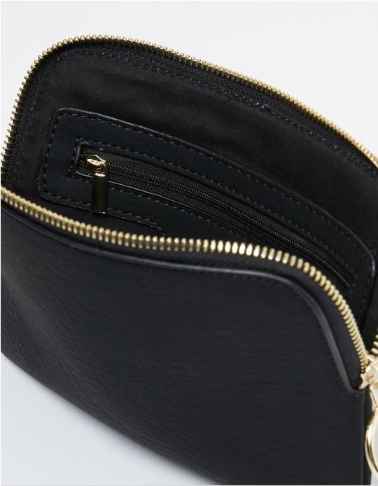 Chloe clutch purse inside