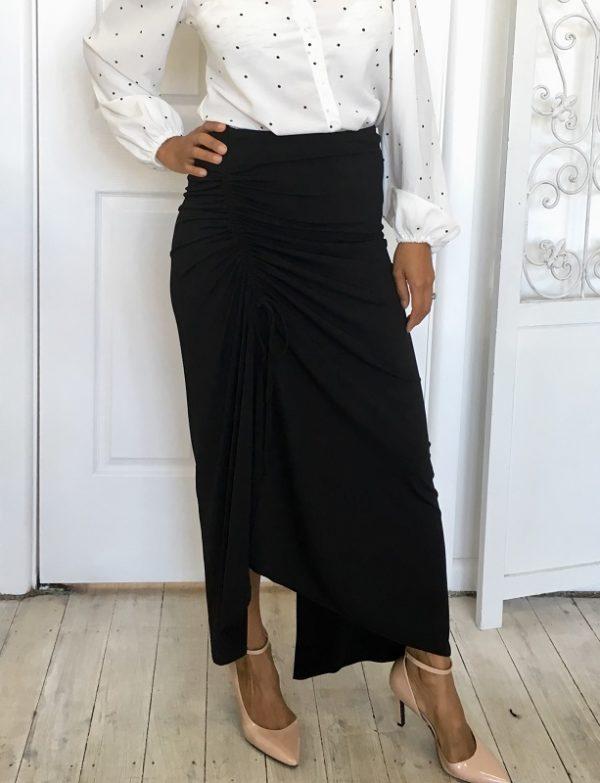 Common thread maxi skirt