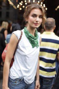 Bandana style scarf