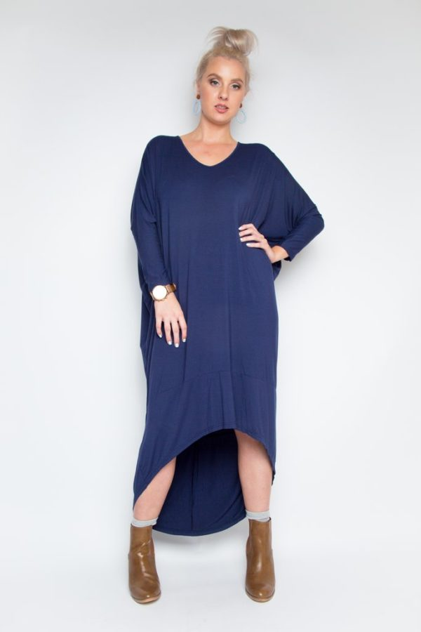 Scoop maxi dress