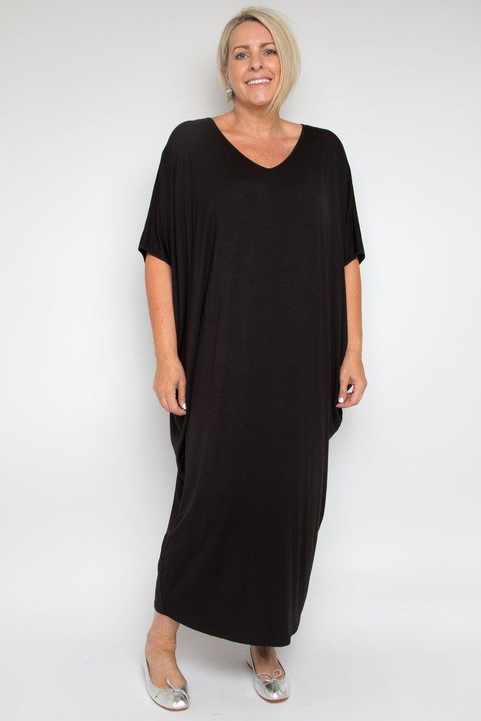 maxi miracle dress elegant bamboo drape dress. Black Bedroom Furniture Sets. Home Design Ideas