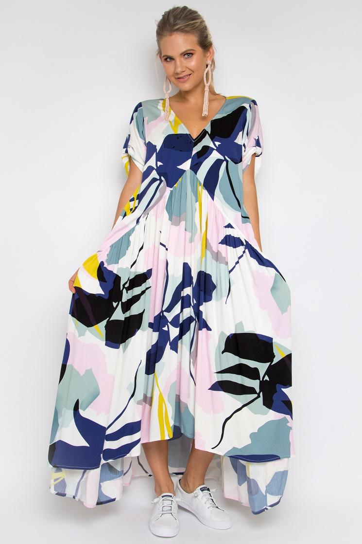 a614b4d8914d2 Tropical Peak Maxi Dress