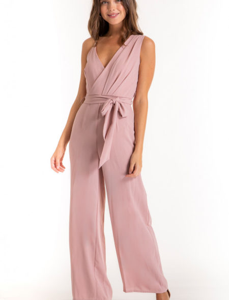 Perfect Pink Jumpsuit