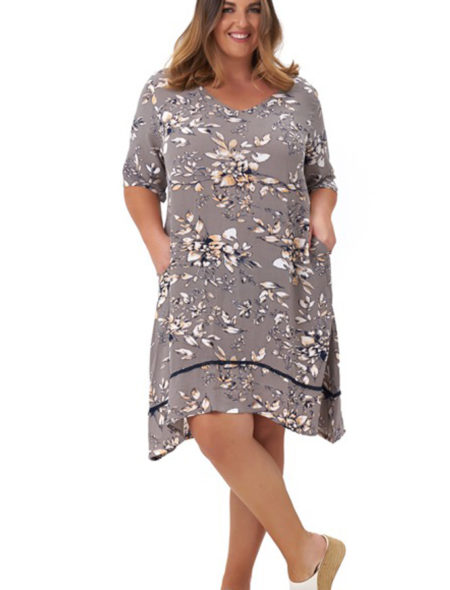 Mocha Lilly Dress