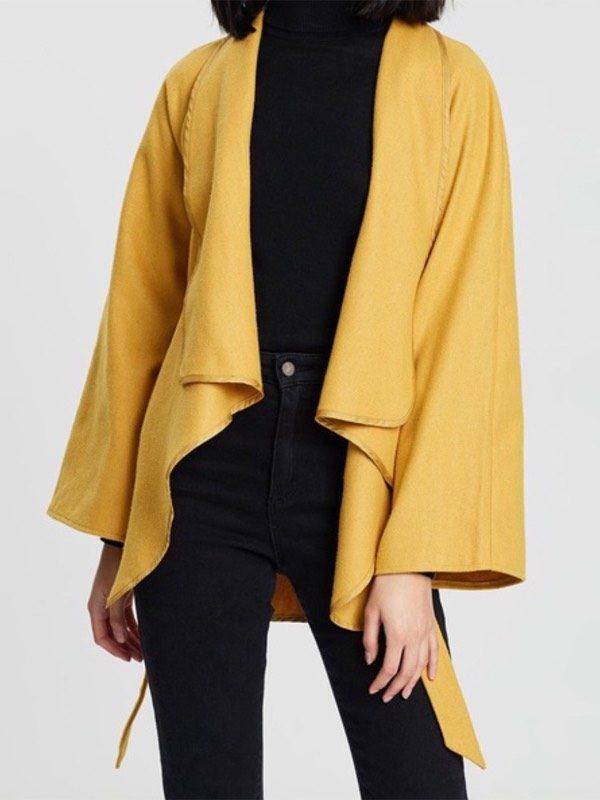 Chella cape jacket