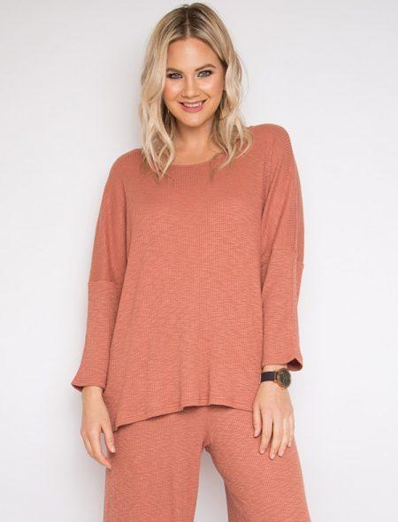 Light modal knit top
