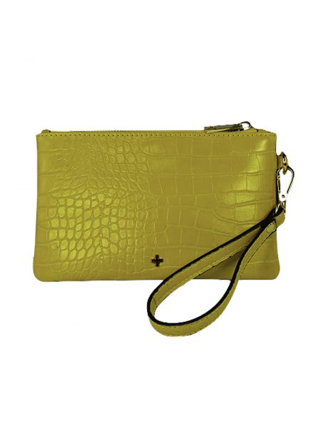 Bella Yellow croc
