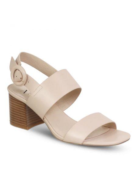 Soft blush heels close