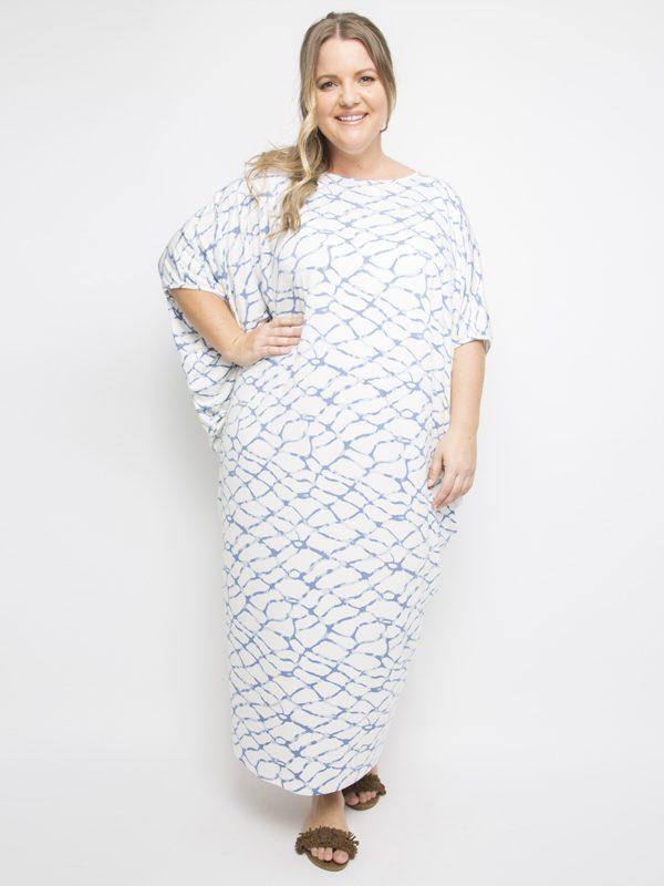Summer Maxi Drape Dress