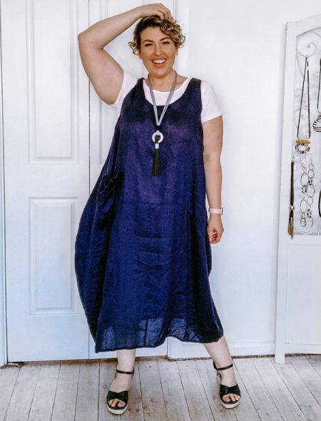 Florida linen dress