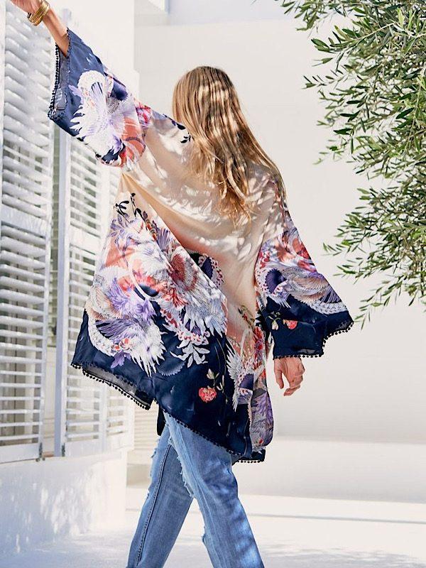 Tradition Kimono back