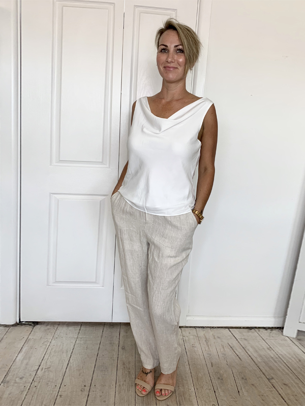 Classic Cami white front