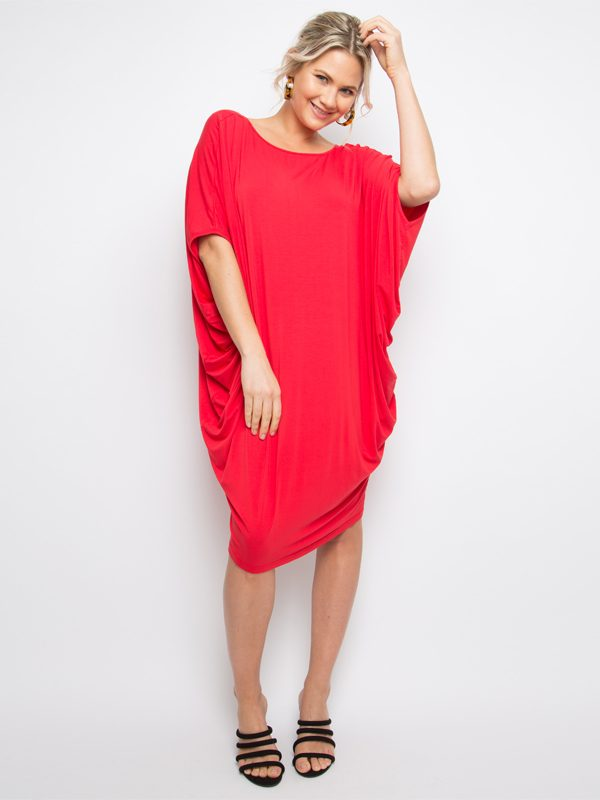 miracle dress in red