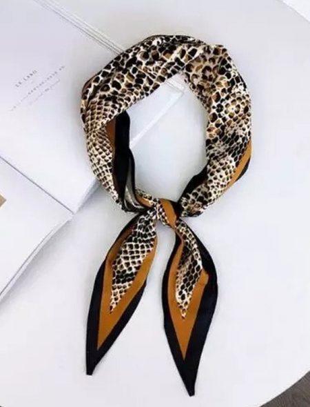 Neck Scarf Snake Print