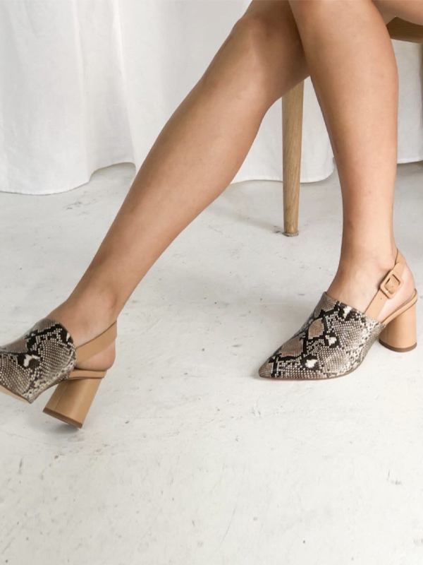 Snake Mules side view