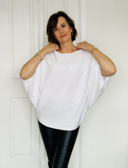 Poncho top front