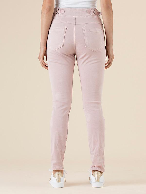 Jogger jeans pink back