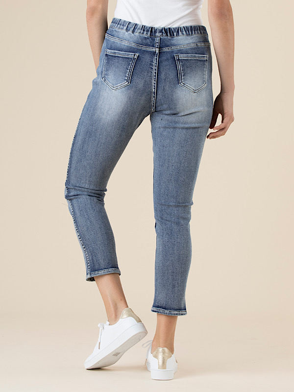 Reversible jeans back