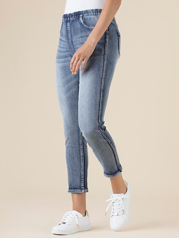 Reversible jeans side