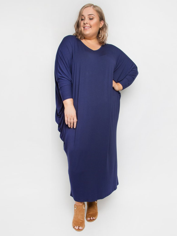 Winter maxi miracle dress front