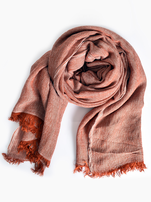 Chic scarf Rust