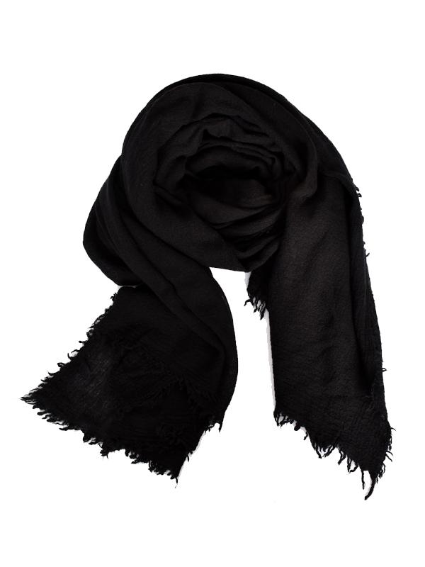 chic scarf black