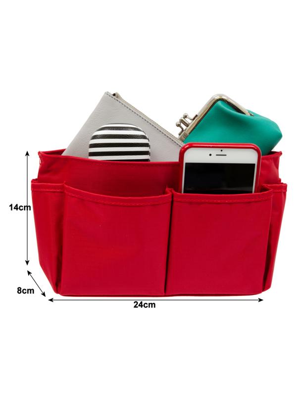 Bag Organiser Red Size