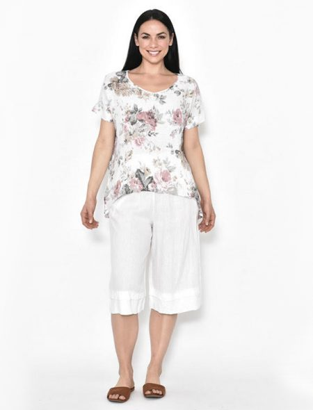 Florence Top White