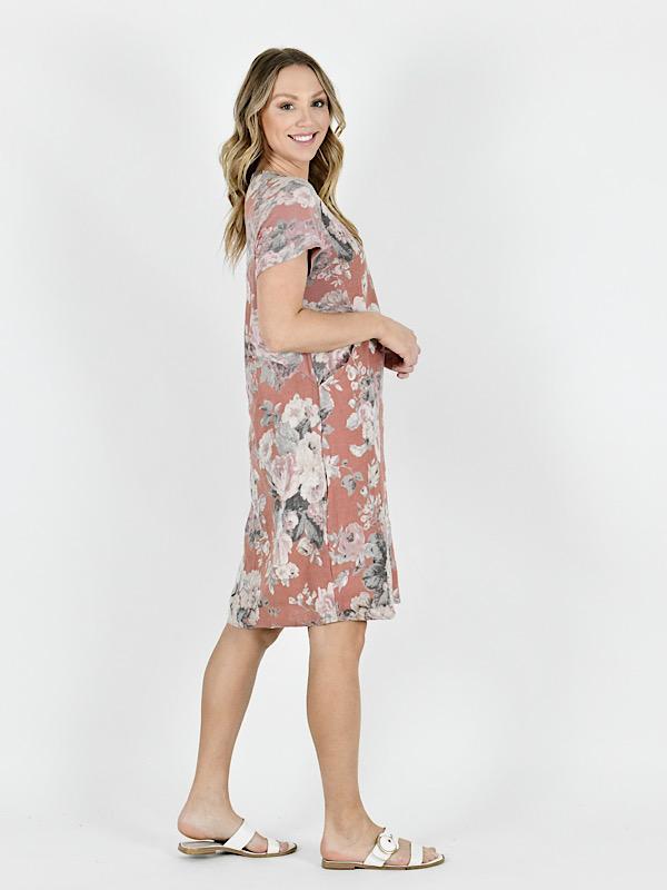 Florence dress side