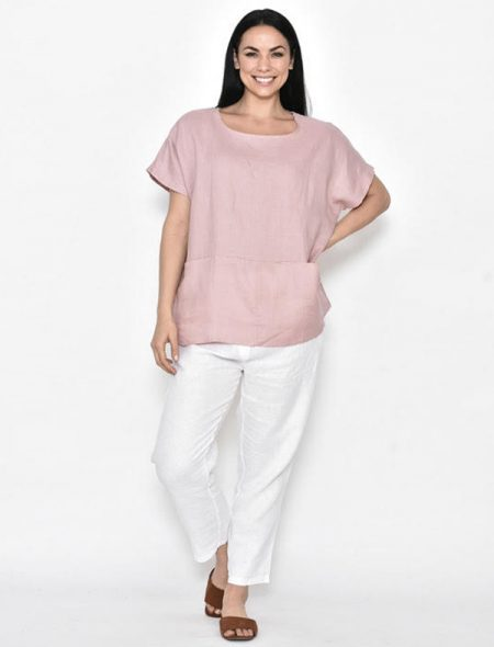 Linen Pants with Linen pocket top