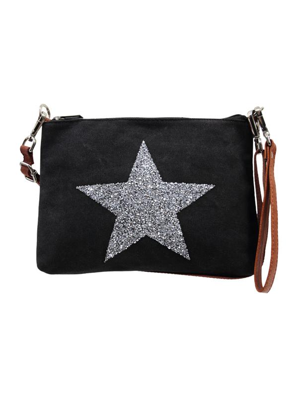 Star Power Wristlet Black