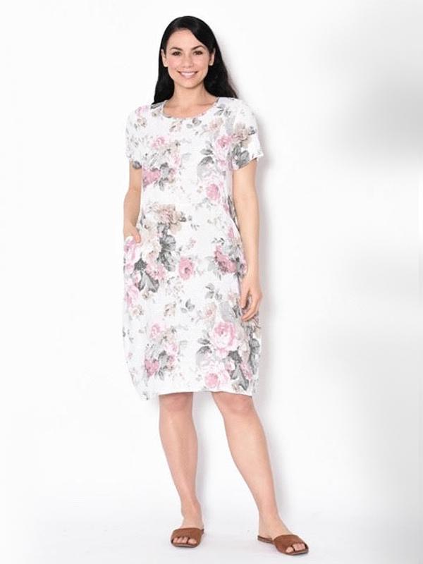 Florence linen dress