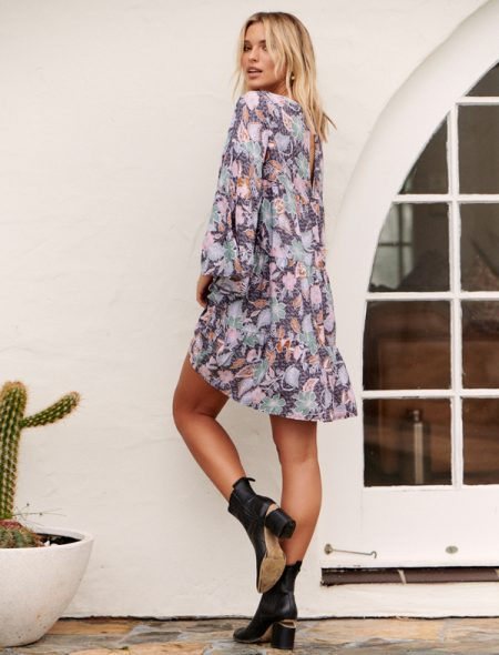 Secret Garden Mini Dress Side