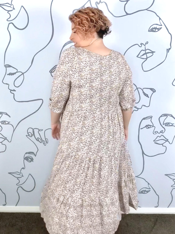 Angelic Dress Back