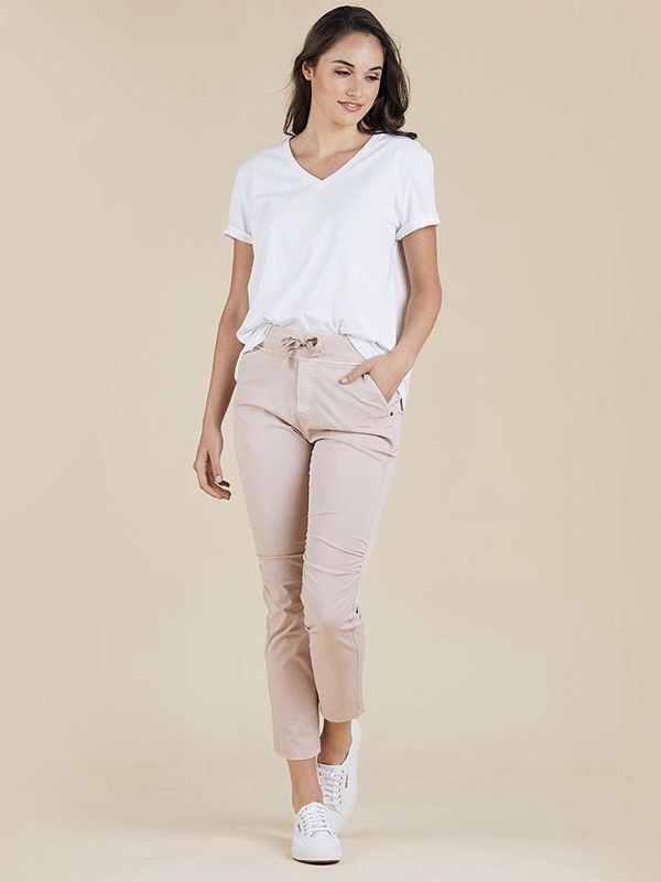 Jogger jeans pink