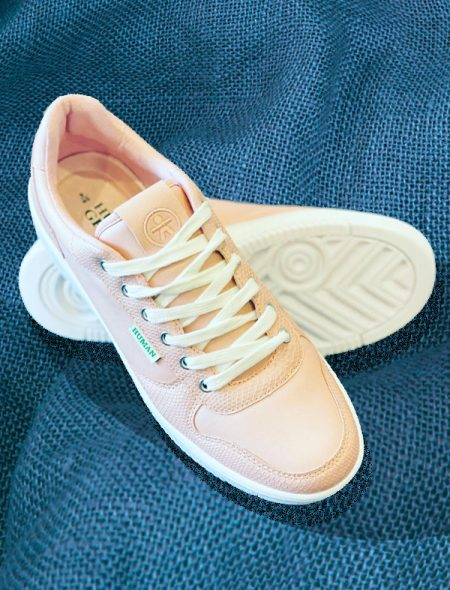 Recycled leather sneakers
