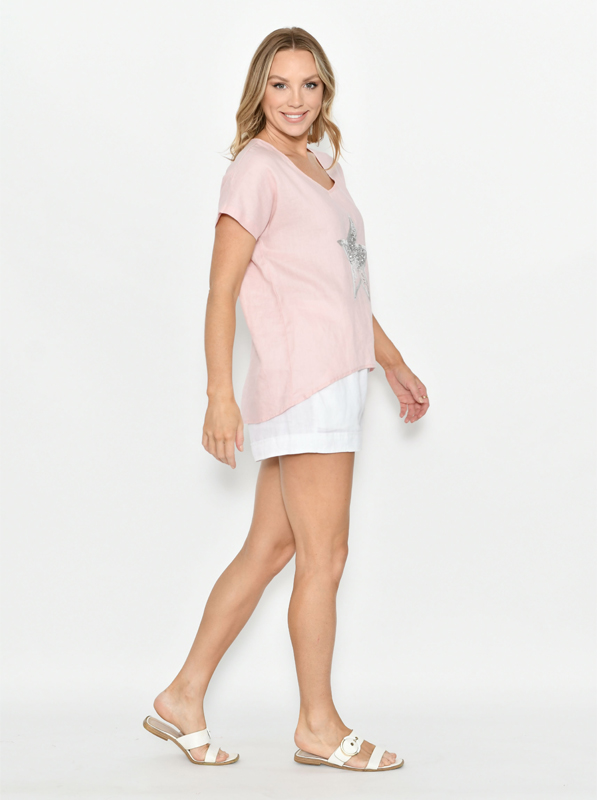 Star Top Pink Side