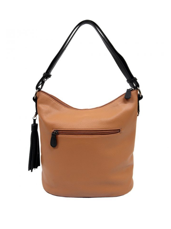 Gabriella Shoulder Bag Tan Front