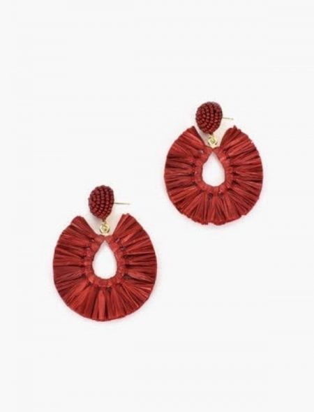 Pop of colour earrings Berry