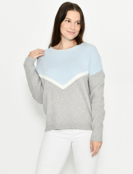 Ribbed knit jumper Front