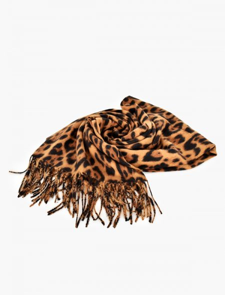 Winter scarf - Brown