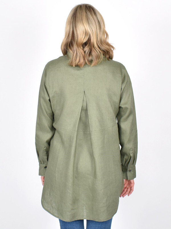 Linen Shirt Back