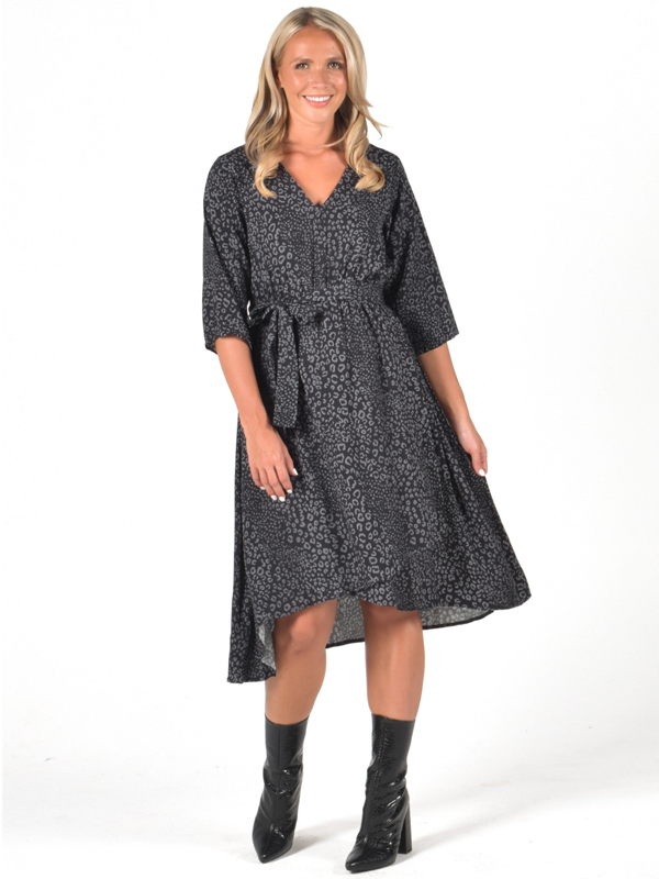 Wanetta wrap dress
