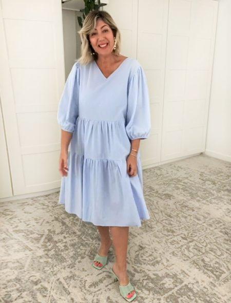 Havana Dress Blue Front