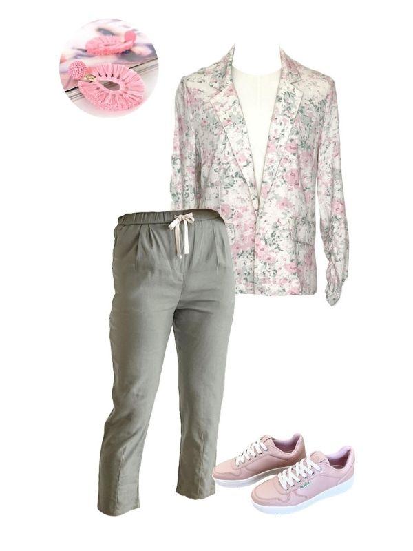 florida blazer flatlay