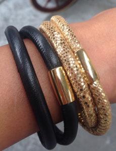 Infinity Leather Bracelets